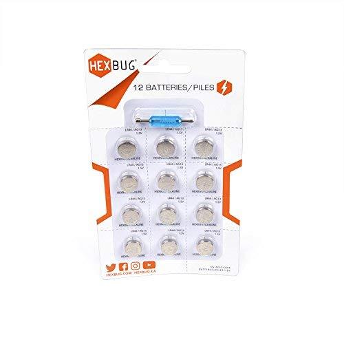 HEXBUG 501107 - Batteries 12 Pack, Elektronisches Spielzeug