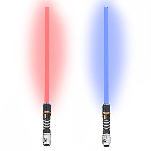 Lichtschwert - Laserschwert mit Beleuchtung & Sound Blau