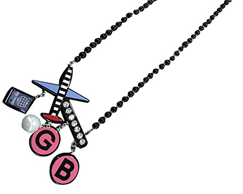 Avions Collier en forme de collier de vêtements mode pour les belles femmes