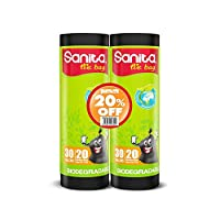 Sanita Garbage Tie Bag Roll, 2 Pieces