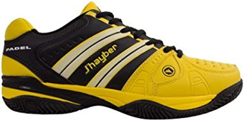 Sneaker jhayber tawin gelb schwarz