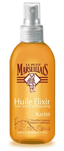 Le Petit Marseillais Huile Elixir Cheveux Secs Karité Argan Spray 150 ml