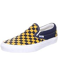 Vans U CLASSIC SLIP-ON (VINTAGE CHECK) - Zapatillas de casa de lona unisex