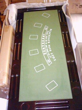 Kunibert Pokerspieltischbar - Poker/Roulette/Würfel/Blackjack/Theke - 4