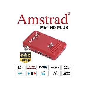 Mini démodulateur satellite HD FTA chaines gratuites - HDMI 220V 12V idéal pour Hotbird, Türksat, Nilesat, Eutelsat, Astra (hors TNT française) ...