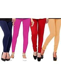 1 Stop Fashion Women's Leggings (Pack of 4)