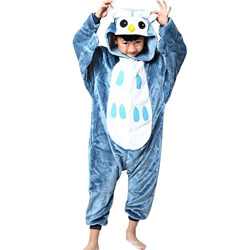 Tongchou-Pyjama-Combinaison-Animaux-Polaire-Pour-Enfant-Deguisement-Enfant-Hibou
