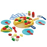 Playgo 43-tlg. Pizza-Spielset Kinderküche Lebensmittel Spielzeug Kaufladen 3570