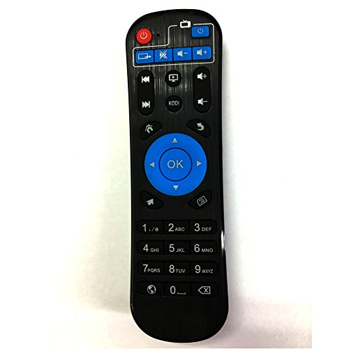 Replacement Infrared Learning Remote Controller for Android TV Box,T95K  Pro, T95V Pro, T95U Pro, T95W Pro, T95Z Plus TV Box IR Remote Control For Q