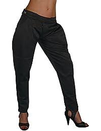 S&LU Kosmo Lupo Fashion Chino/Sarouel Hose in angesagter Glanzoptik Gr.S- XL (34-40)