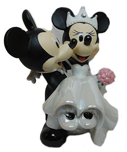 Figur Mickey Mouse & Minnie Mouse aus Porzellan (Mickey-mouse-hochzeit)