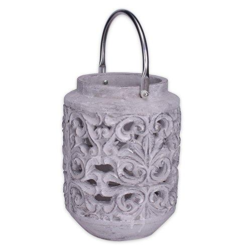 dekorative-laterne-windlicht-aus-zement-mit-ornamenten-oe-19-cm-modell-floralis