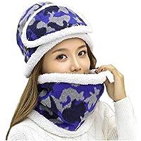 China Show Mujeres Schöne Bigote Invierno Gorro Polar Forrado Ciclo de Gorro Sombrero con máscara