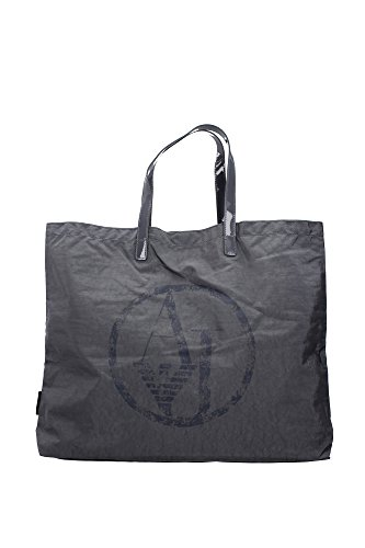 ARMANI JEANS NYLON SHOPPING BAG C522XU4-J2 GRIGIO - GREY