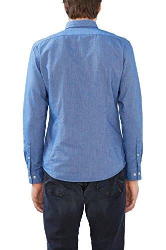 Esprit 116ee2f027, Chemise Casual Homme Bleu (blue 430)