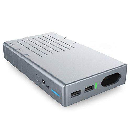 Preisvergleich Produktbild Powerbank 24000mAh 220V / 230V AC 100W Ausgang - und 2 USB outputs (2.1A&1A) - OrimeCharger externer Akku für MacBook,  MacBook Air,  MacBook Pro,  Laptop,  Notebook,  Smartphone