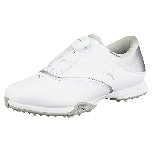 Puma Blaze Disc Women Golfschuhe Golf 189421 01 White, Pointure:EUR 42