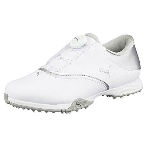 Puma PG Blaze DISC White Silver, Größe:6.5