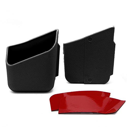 Analysisty - 2 Stück Schwarz Universal Brillenhalter Brillen Aufbewahrungsbox Für Auto Auto Zubehör