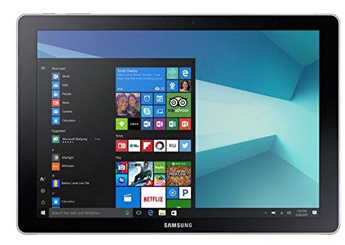 Samsung SM-W728N Galaxy Book 12.0 Core i5-7200U 8GB RAM 256GB SSD LTE QUERTY Tastatur silber (Windows Samsung 7 Ultrabook)