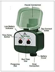 Greenage Water Timer For Automatic Drip Irrigation In Garden & Poly House,1 Piece