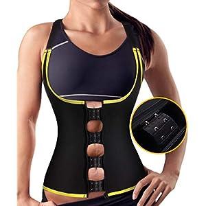 Damen Waist Trainer Shaper Vest Sport Body Cincher Korsett Taille Corsage mit Adjustable Strap