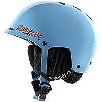 Shred Half Brain Skyward Casco de esquí, snowboard, Otoño-invierno, unisex, color azul, tamaño (M+)L/XL