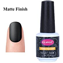 Clavuz Top Coat Mate Esmale de Uñas Gel UV LED Semipermanente Manicura y Pedicura