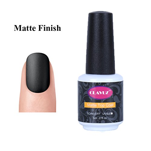 Clavuz Top Coat Mate Esmale Uñas Gel UV LED Semipermanente