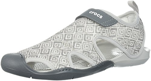 Crocs Women's Swiftwater Graphic Mesh SNDL Sport Sandal