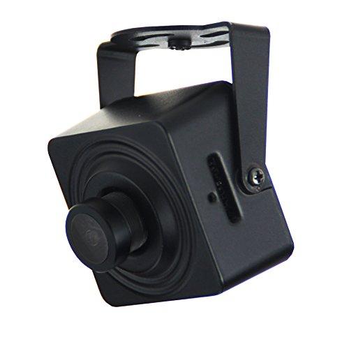 Cantonk KHJSL200W - Mini Kamera IP WLAN, Full HD 1080p (2.0 Megapixel), Weitwinkel 95°, microSD, H.265, H.264, ONVIF - Video Splitter Box
