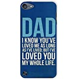 Sankee Case Cover for Apple iPod Touch 5th Gen Mobile Phone Quotes/Typography Blue Protective Case Cover Accessory IPODT5CLSADA73