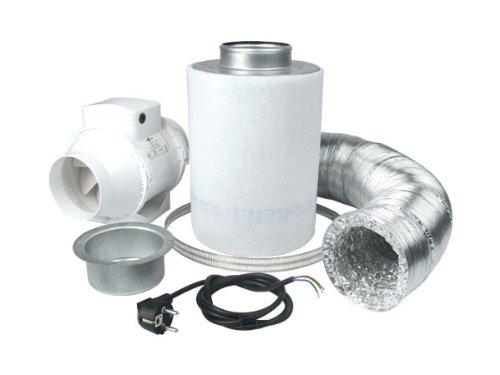 Kit vmc ventilution 160 + ventilution mixed eco-line in, 145 et 187 m³/h et accessoires