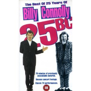 Billy Connolly-25 Years Best Of. [VHS]