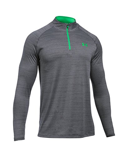 Under Armour Tech Langarm-Shirt mit 1/4 Reißverschluss, für Herren, Herren, Graphite/Northern Lights (Graphit Langarm-shirt)