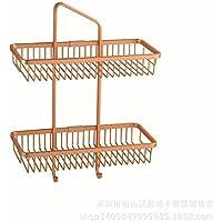 Alluminio doppio quadrato spazio per bagno e cucina e cremagliere