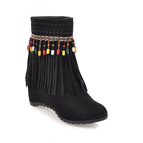 Noir Sandales BalaMasa Compensées Abl09944 femme PUUzHfx