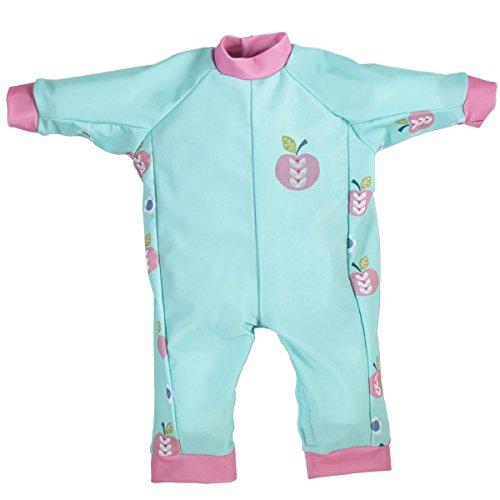 Splash About Baby Einteiliger UV Schutzanzug, Apfel Daisy, 3-6 Monate, (Kostüme Apfel Baby)