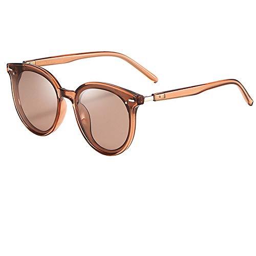 JIANG Damen polarisierte Sonnenbrillen, stilvolle Outdoor-Sonnenbrillen, Retro-Sonnenbrillen, geeignet für die meisten Outdoor-Aktivitäten,B