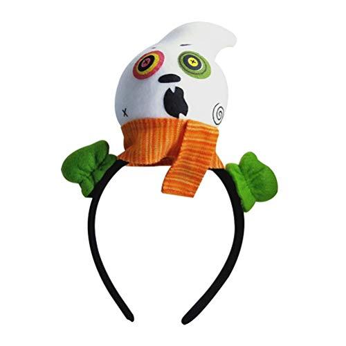 Amosfun Plüsch Stirnband für Mädchen Tag der Toten Kopfbedeckung Zombie Haarband Leistung Requisiten Haarband für Kind Kind Mädchen