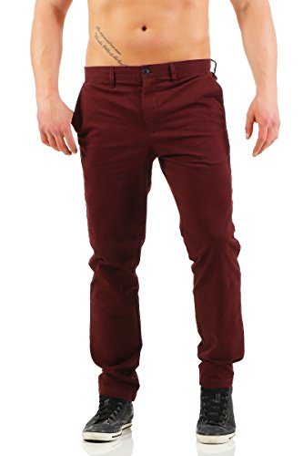 JACK   JONES Herren Hose Burgundy ... 6a9500b3e3