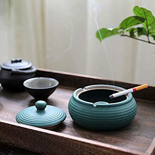LJXLXY Decoración Manualidades Cenicero cerámica