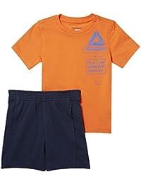 Reebok Conjunto B essentials-naranja-128