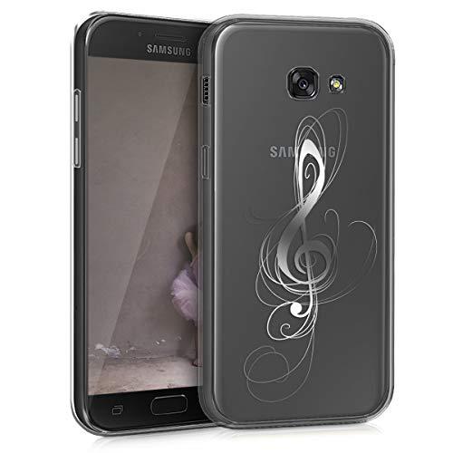 kwmobile Samsung Galaxy A5 (2017) Hülle - Handyhülle für Samsung Galaxy A5 (2017) - Handy Case in Silber Transparent
