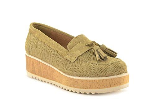 CONBUENPIE  059, chaussures femme Taupe
