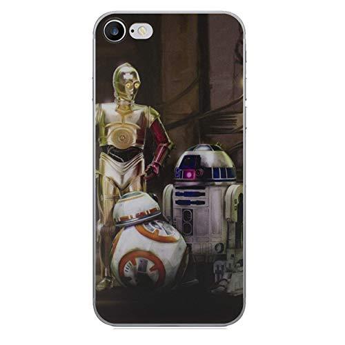 s Star Wars Silicone Hülle / Gel Abdeckung für Apple iPhone 6S Plus 6 Plus / Displayschutzfolie und Tuch / iCHOOSE / 3 Droids ()