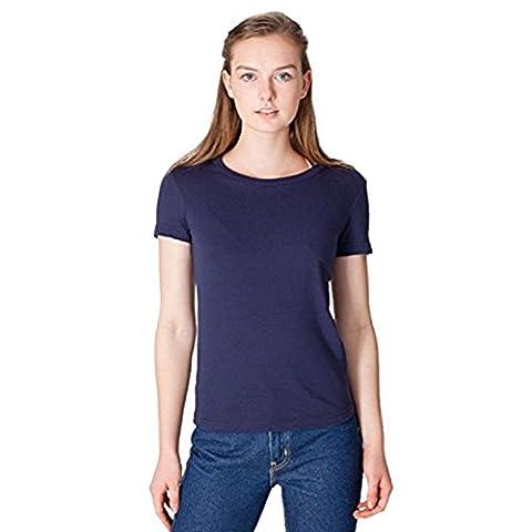 American Apparel Damen Modern T-Shirt Gr. L, navy