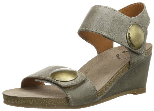 cashott A8020, Sandali donna, Marrone (Brown - Braun (mushroom west 137)), 41