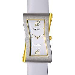 Gardé (by Ruhla) Uhr Damen Edelstahl Armbanduhr Modell Elegance 21778