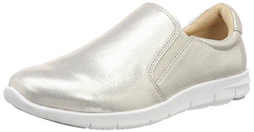 Caprice Damen Slipper, Weiß (Offwht Glitter 112), 38 EU